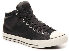 Converse Men's Chuck Taylor All Star Street Leather High-Top Sneaker