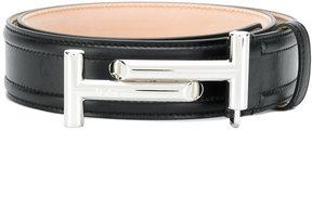 Tod's double T buckle belt