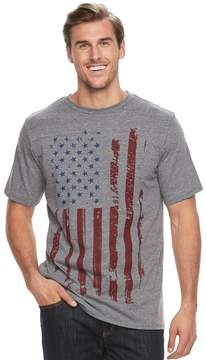 Apt. 9 Big & Tall Frequency Americana Flag Graphic Tee