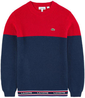 Lacoste Wool and cashmere sweater