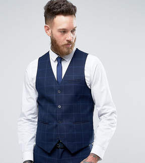 ONLY & SONS Super Skinny Vest In Textured Check
