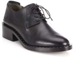 3.1 Phillip Lim Alexa Leather Block-Heel Oxfords