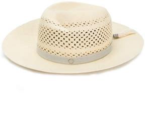Maison Michel Neutral Virginie Hat