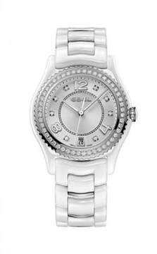 Ebel X-1 White Ceramic Diamond 34 mm Womens Watch