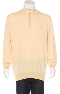 Loro Piana Cashmere Roadster Pull Sweater