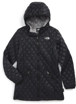 The North Face Girl's 'Thermoball(TM)' Primaloft Quilted Parka