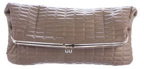 Devi Kroell Quilted Leather Clutch