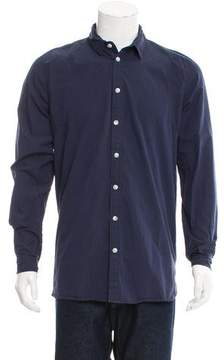Henrik Vibskov Striped Button-Up Shirt