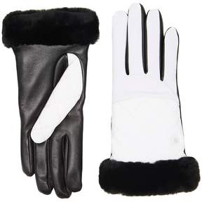 UGG Quilted Nylon Smart Gloves Extreme Cold Weather Gloves