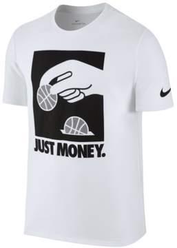 Nike Mens Dri-Fit Graphic T-Shirt White L