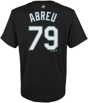 Majestic Boys 4-18 Chicago White Sox Jose Abreu Player Name and Number Tee