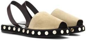 Loewe Suede slingback sandals