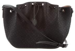 Alaia Arabesque Studded Bucket Bag