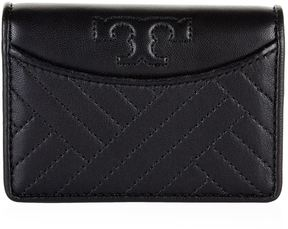 Tory Burch Mini Alexa Foldable Wallet - BLACK - STYLE