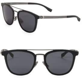 HUGO 52mm Square Sunglasses