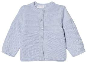 Absorba Pale Blue Textured Knit Cardigan