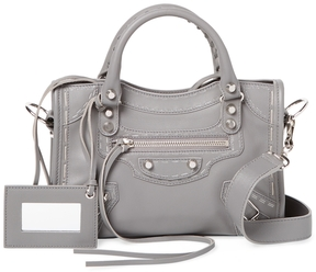 Balenciaga Women's Classic City Mini Leather Satchel