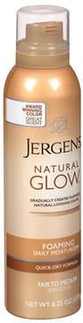 Jergens Natural Glow Foaming Daily Moisturizer Fair to Medium