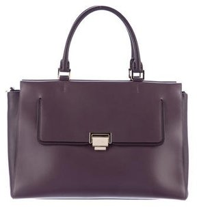 Smythson Grosvenor East West Zip Tote