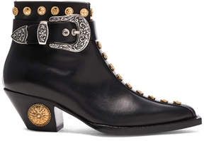 Fausto Puglisi Studded Leather Booties