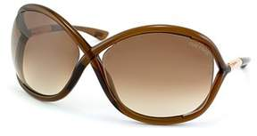 Tom Ford Whitney Fashion Plastic Sunglasses.