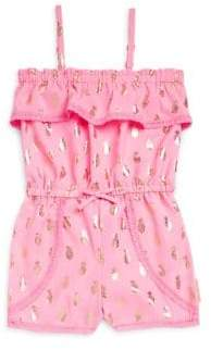 Juicy Couture Girl's Pineapple Romper
