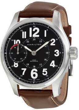 Hamilton Khaki Field Mechanical Black Dial Men's Watch