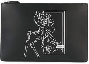 Givenchy Bambi print clutch