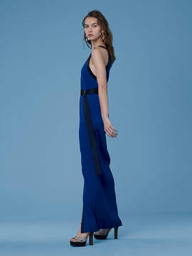 Diane von Furstenberg Ribbed Jersey Maxi Dress