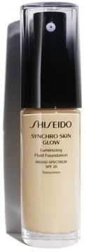 Shiseido Synchro Skin Glow Luminizing Fluid Foundation Broad Spectrum Spf 30 - G2