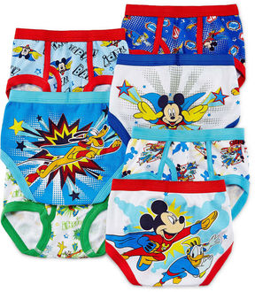 JCPenney LICENSED PROPERTIES Mickey Mouse 7-pk. Briefs - Toddler Boys 2t-4t