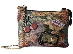 Betsey Johnson Brocade Crossbody Cross Body Handbags