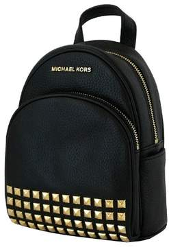Michael Kors Abbey Extra Small Studded Backpack In Black