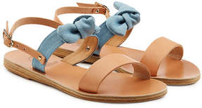 Ancient Greek Sandals Clio Bow Leather Sandals