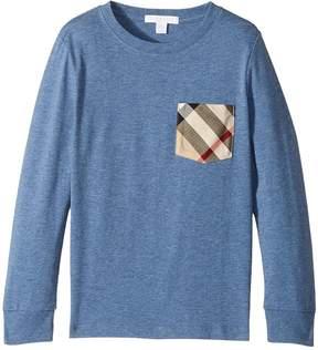 Burberry YNG Long Sleeve T-Shirt Boy's T Shirt
