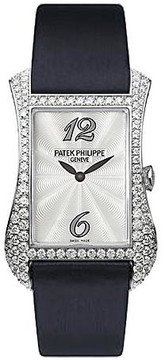 Patek Philippe Gondolo Serata 18kt White Gold Diamond Ladies Watch