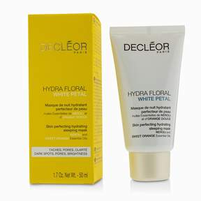 Decleor Hydra Floral White Petal Neroli & Sweet Orange Skin Perfecting Hydrating Sleeping Mask