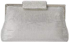 Whiting & Davis Bubble Mesh and Crystal Clutch