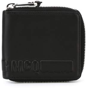 McQ embossed logo wallet