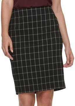 Elle Women's Pull-On Pencil Skirt