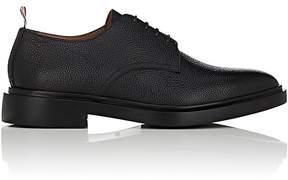 Thom Browne Men's Scotch Grain Leather Bluchers
