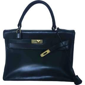 Hermes Kelly leather handbag