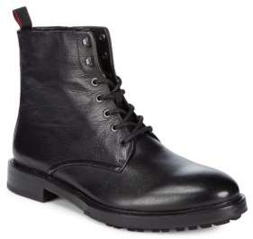 HUGO BOSS Defend Leather Mid-Calf Boots