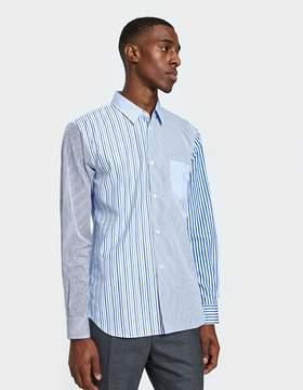 Comme des Garcons Yarn Dyed Cotton Poplin x Cotton Poplin Shirt