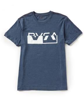 RVCA CO Brand Slim Fit Short-Sleeve T-Shirt