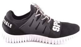 Philipp Plein Men's Black Polyester Sneakers.