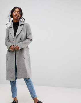 B.young Classic Belted Coat