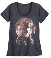 Disney Jack Skellington and Sally Metallic T-Shirt for Women