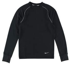 Nike Mens Dri FIT Sprint Crew Running Shirt Black XS