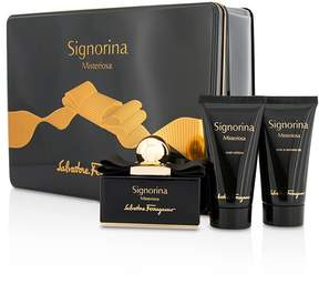 Salvatore Ferragamo Signorina Misteriosa Coffret: Eau De Parfum Spray 50ml/1.7oz + Body Lotion 50ml/1.7oz + Bath & Shower Gel 50ml/1.7oz